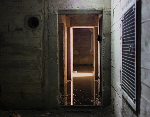 Schiermonnikoog, inside Wasserman Radar Bunker