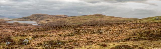 Northern Shetland panorama