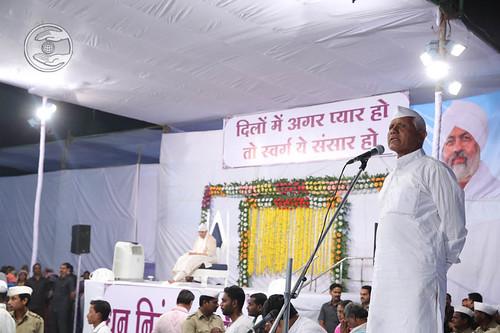 Amba Dass Gaikwad from Sangola, expresses his views