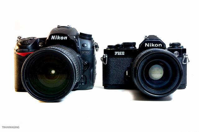 Nikon then and now (2) nikon fm2