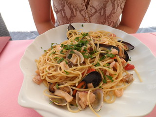 Fisherman's Pasta (Spaghetti Seafood)