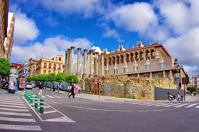 Cordoue - Córdoba 289 - Calle Claudio Marcello, Temple romain