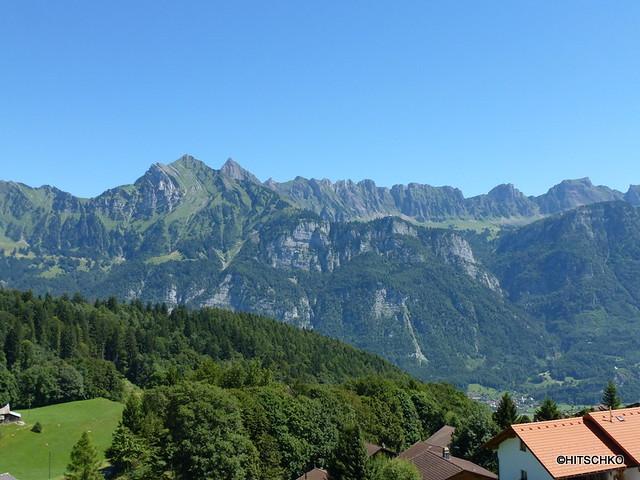 Sichelchamm 2259 m, Gamsberg 2384 m,