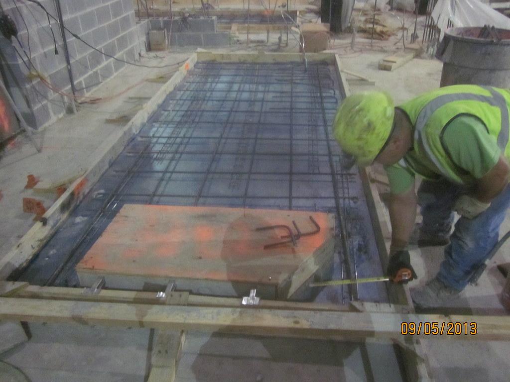 CM014A - Placing Rebar at Transformer Room Equipment Pads … | Flickr