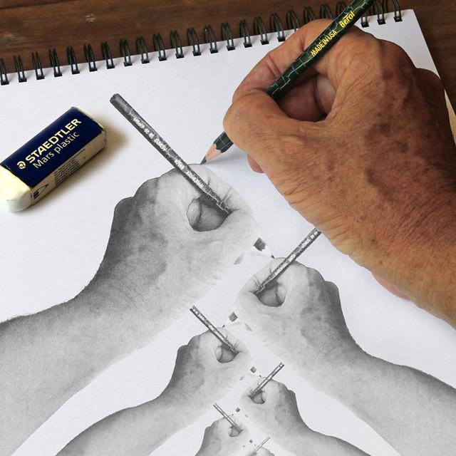 Hand Drawing Hand Drawing Hand...(IMG_2581)