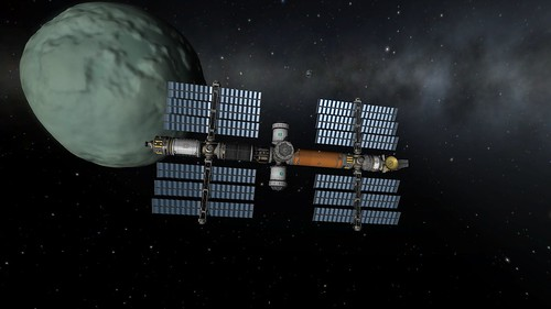 Keats Station in Orbit Around Minmus | by Second City Warehouse