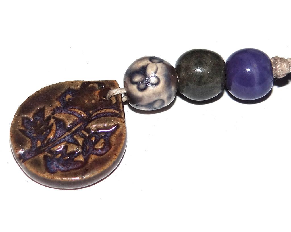 Handmade Ceramic Jewellery Components Beads By Grubbi Ce Grubbi Ceramics Flickr