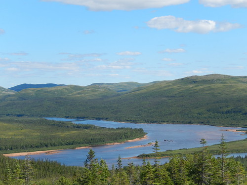 Labrador coastal drive - lookout voor Red Bay