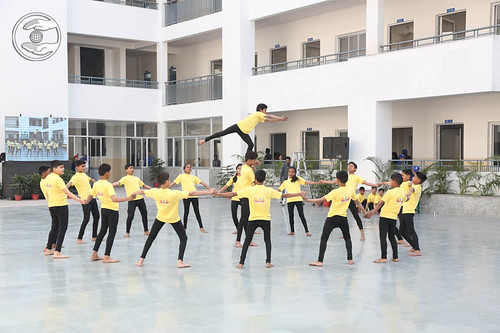 Formation by Students of Sant Nirankari Public School