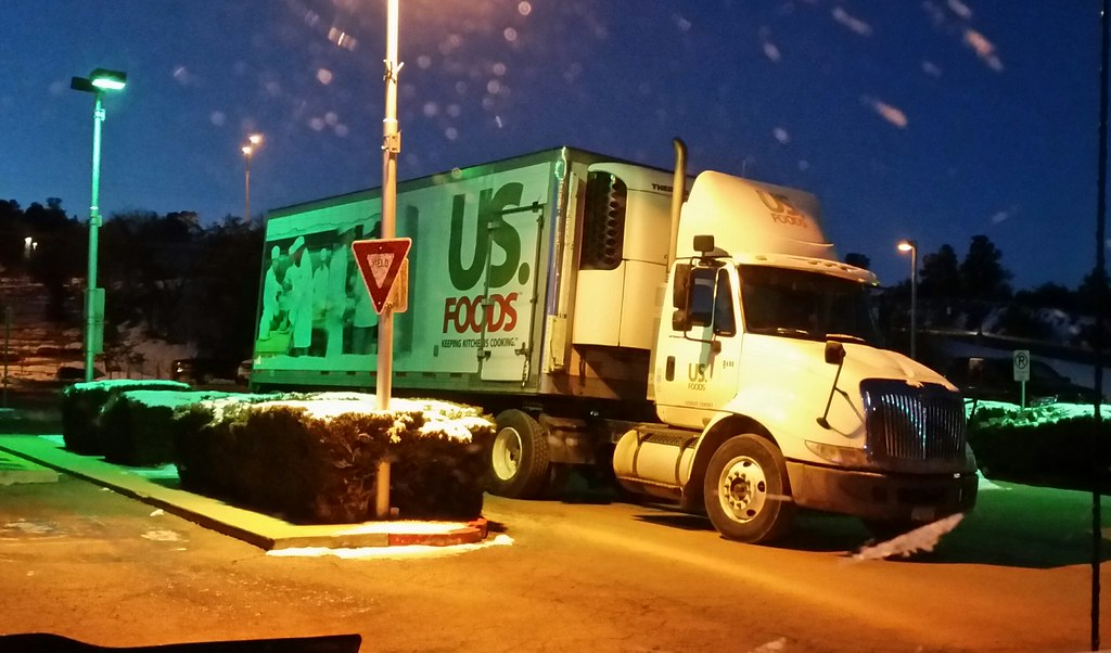 US Foods | Shot through a icy windshield in the early mornin… | Flickr