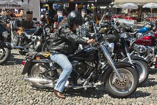 Harley Davidson Parade in Locarno. August 25, 2013.No.8426 | by Izakigur