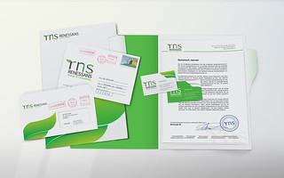 """Дизайн фирменного стиля группы компаний """"Renessans""""   by M.O.Z.G"""