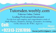 tutor academy, teacher in karachi, tuition in karachi