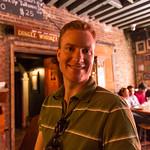 Chris at the GWB