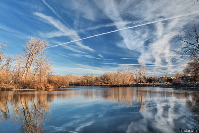 Boise River Winter 2013