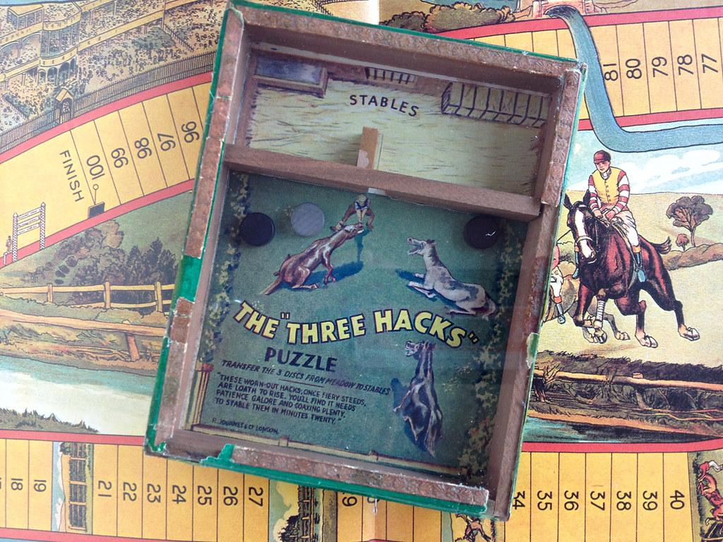 Journet Three Hacks puzzle