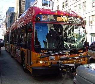 King County Metro RapidRide 2013 New Flyer DE60LFR 6089 | by zargoman