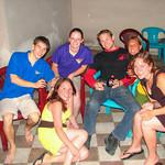 Friends we met in our hostel in Belgrade