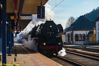 41 1144-9 mit Schlafwagen durch Eisenach am 25.02.2017 | by Photography Sebastian Winter