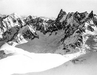 Seen from Mont-Blanc