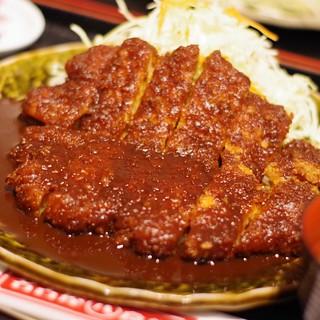 わらじとんかつ #food #pork #cutlet #tonkatsu #nagoya #japan #miso