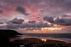 Après la tempête... | Baie d'Écalgrain (Normandie)