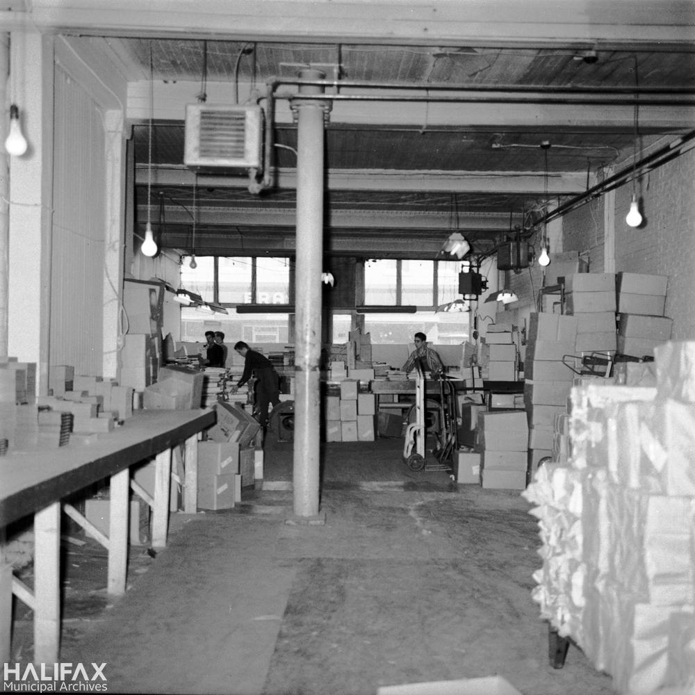 1884 Barrington St., H. H. Marshall's Ltd. Warehouse