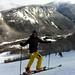 Kamarád Vedran Perić si užívá lyžování na Cannon Mountain. Toto středisko je hned u dálnice číslo 93 a tedy velmi jednoduše dostupné z  Bostonu. Cannon má 35 kilometrů sjezdovek větší převýšení než Špindl.  Na vrchol vás vyveze mimo jiné také kabina pro osmdesát lyžařů., foto: archiv Pavla Trčaly