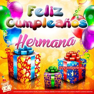 Frases De Amor Bonita Tarjeta De Cumpleaños Para Mi Herma