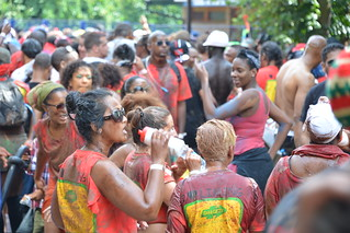A Chocolate Mas team at Notting Hill Carnival