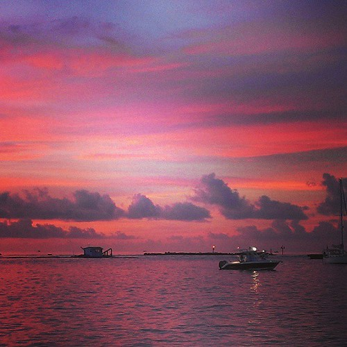 Hillsboro Inlet at sunrise #instaflorida #PompanoBeach #Florida #sunsentinel #sunrise #LoveFL #instagram_florida | by Daniel Piraino