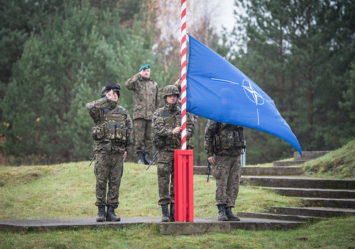Raising of the NATO flag | by U.S. Army Europe