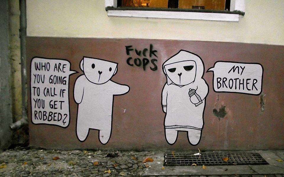 Fuck the police seaton speaks