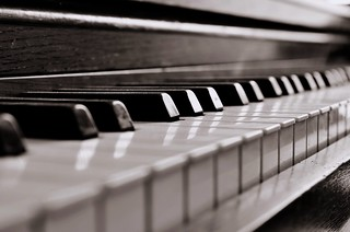 Piano keys | by OnceCaptured