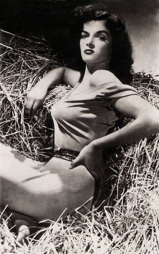 Jane Russell in The Outlaw (1943)