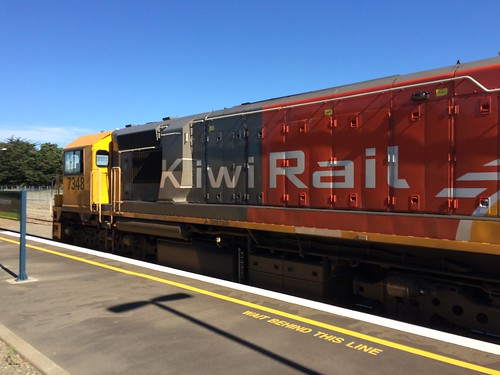 Kiwi Rail 7348 (DFB 7254) at Masterton Station | by train_photos