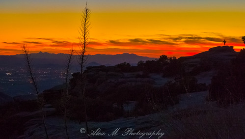 mountlemmon arizona tucson sunrisesunset sunset dusk