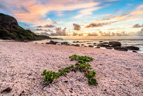 beach guam sunrise tagachangbeach yona gu