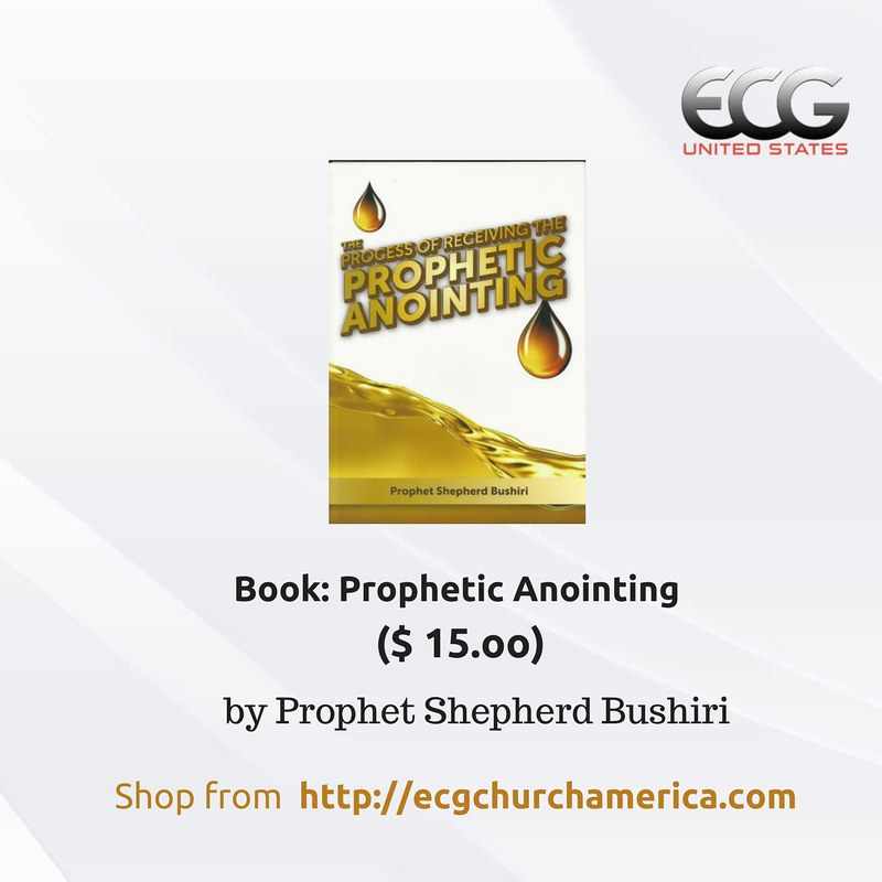 Prophetic Anointing Book by Prophet Shepherd Bushiri | Flickr