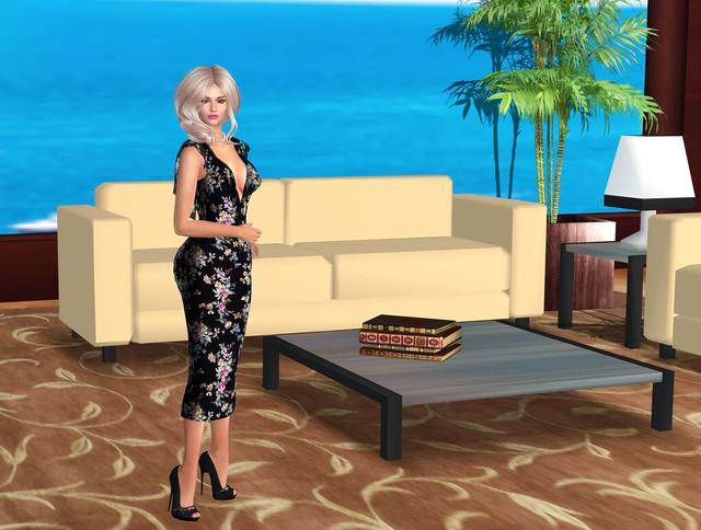 Sn@tch Selena Cocktail dress and Anya hair