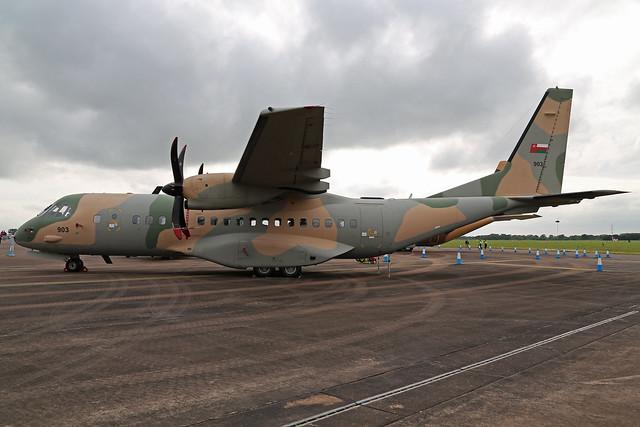 903 Casa C-295M Royal Air Force Of Oman RIAT 2016 RAF Fairford 09th July 2016
