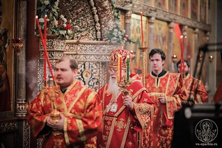 Литургия в Иверском монастыре 150