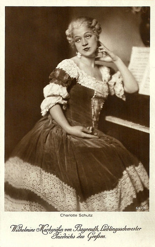 Charlotte Schultz in Fridericus Rex (1921-1922)