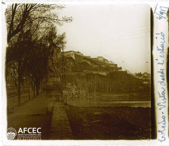 Paseo de la Rosa en abril de 1917. Fotografía de Francesc Blasi i Vallespinosa   © Centre Excursionista de Catalunya