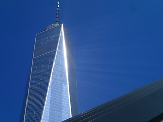 WTC 1 with Beams of Light | by DTolman