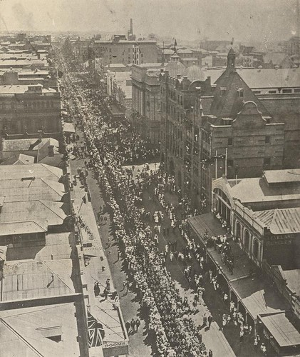 Armistice procession in Queen Street, Brisbane | by State Library of Queensland, Australia