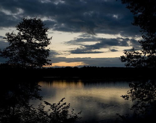 lake nature water beauty sunrise landscape coast waterfall rocks maine