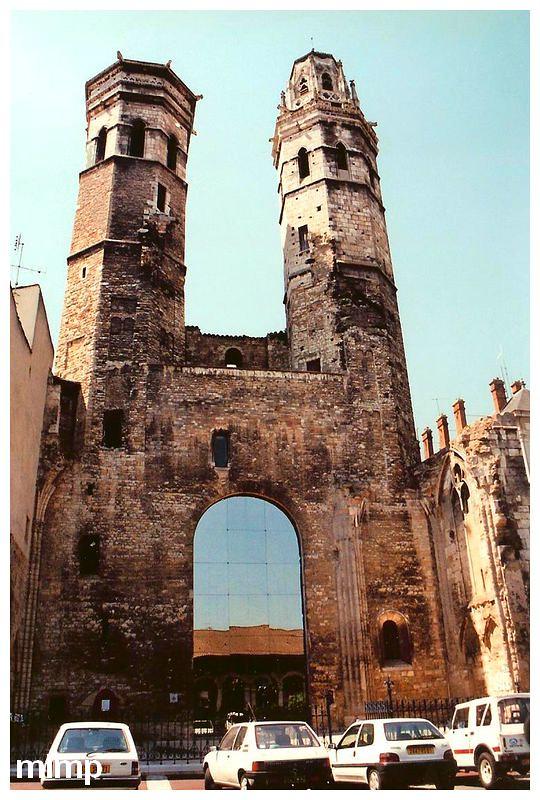 Restes de l'ancienne cathédrale Saint Vincent de Mâcon