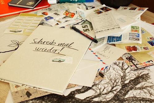 Schreib mal wieder!   by Tomas Germann