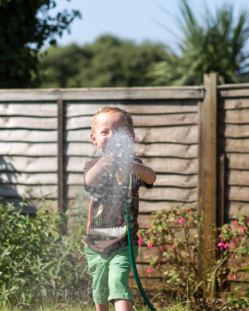 Heatwave - Watering the Garden - IMG_4873